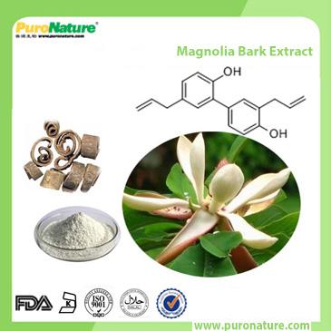 Magnolia Bark Extract Hinokiol Magnolol