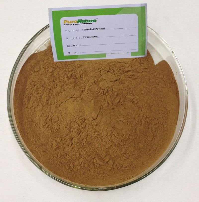 schisandra extract powder 5% Schisandrin