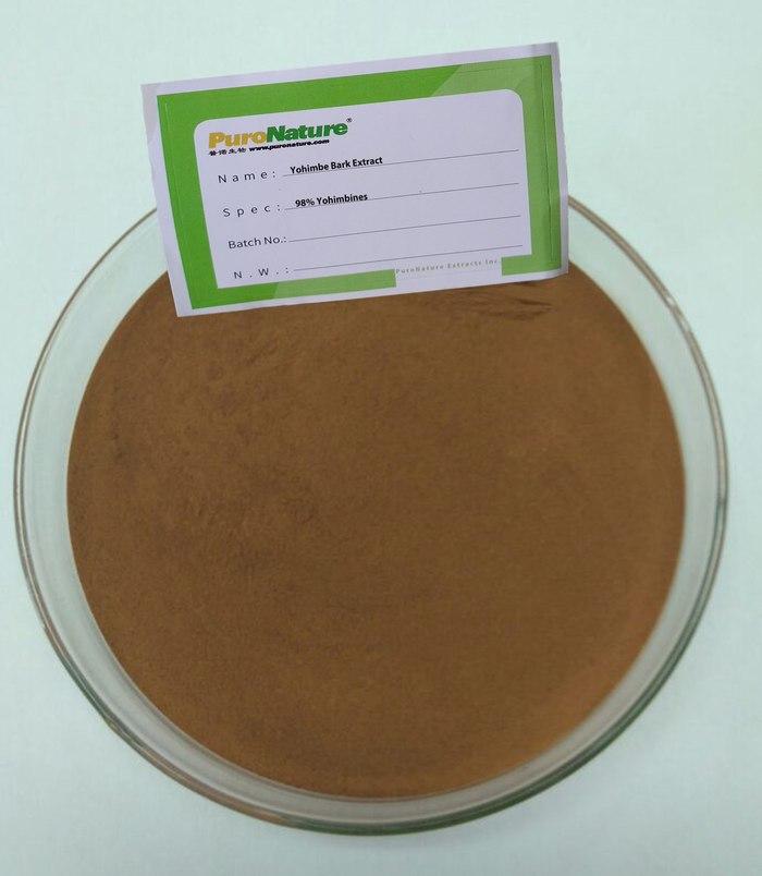 Yohimbe Extract powder 98% Yohimbines