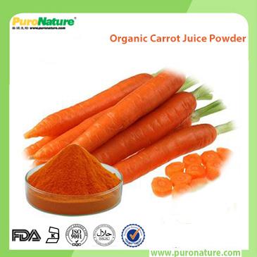 Organic Carrot Juice Powder