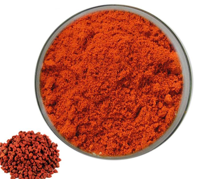 Annatto Extract Bixin Norbixin E160b natural color pigment cas 6983-79-5 dye plants