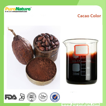 Cacao pigment powder