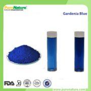 Gardenia blue colorant