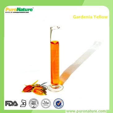 Gardenia natural yellow color