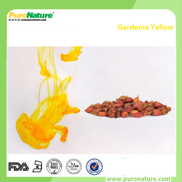 Gardenia yellow color additive