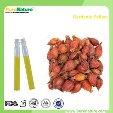 Gardenia yellow colorant