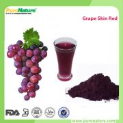 Grape skin extract color powder