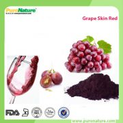 Grape skin extract natural colorant