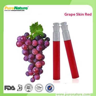 Grape skin red pigment