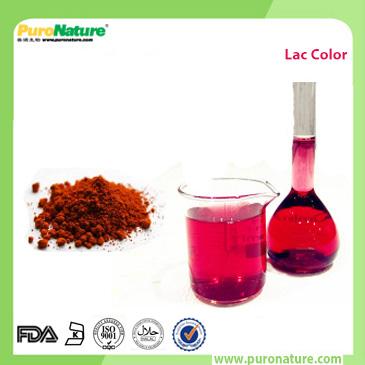 Lac dye color