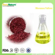 Monascus yellow colorant powder
