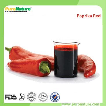 Paprika red natural color