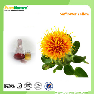 Safflower Extract Carthamin Natural Yellow Colorant Powder Puronature Extracts Inc