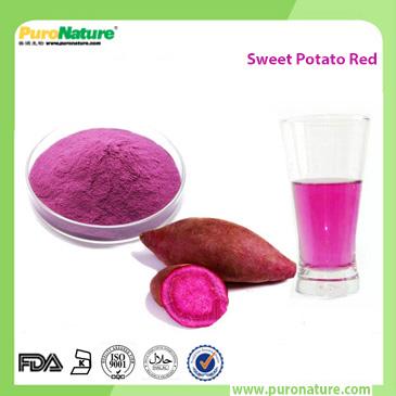 Sweet potato pigment powder