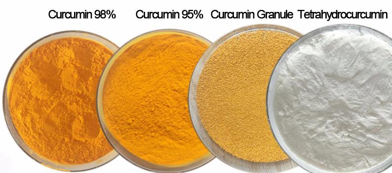 Turmeric extract powder Specification 98% curcumin